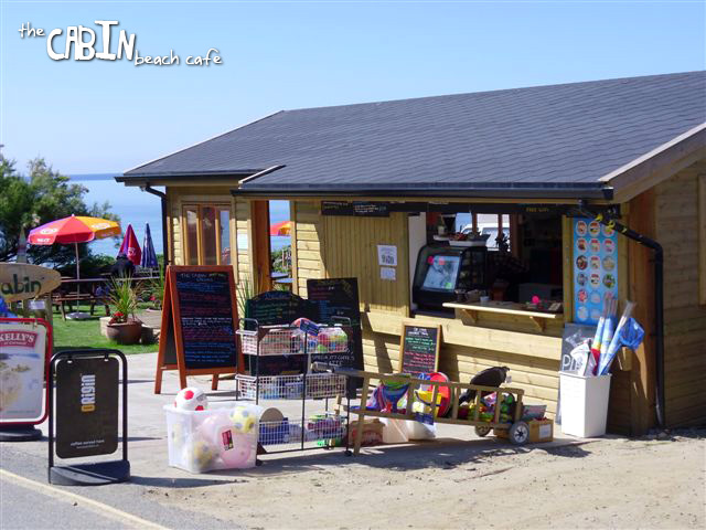 The Cabin Beach Cafe, Perranuthnoe, Cornwall